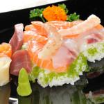 CHIRASHI - Riso con pesce crudo
