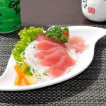 SASHIMI MAGURO 6 fette di tonno crudo e 1 fiore di tonno