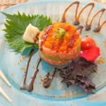 SHAKE TARTARE - Tartare di salmone con tobiko