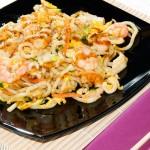SPAGHETTI UDON - Spaghetti di grano con misto mare