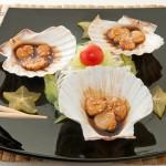 HOTATEGAI TEPPANYAKI - Cappesante in salsa di soia alla piastra