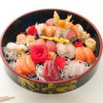 TSUNAMI - 28 pezzi: 8 nigiri, 12 sashimi, 8 maki